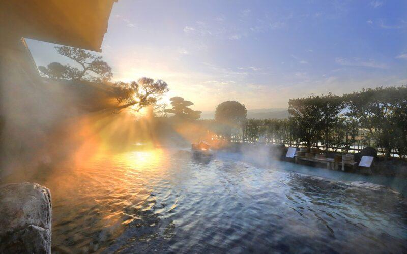 Harazuru Onsen (a hot spring spot)
